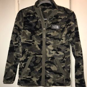The North Face Campshire Boys Large camo